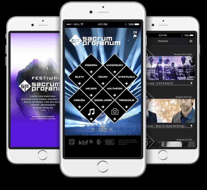 Aplikacja festiwalowa