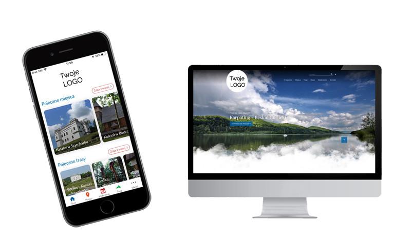 Treespot Mini - aplikacja mobilna i strona www